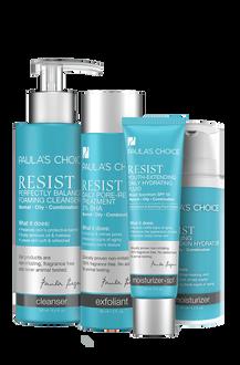 Resist Anti-Aging Set - Oily Skin