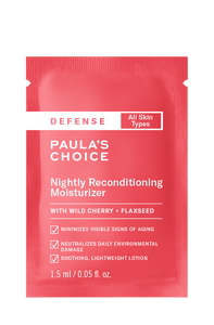 Defense Nightly Reconditioning Moisturizer Sample
