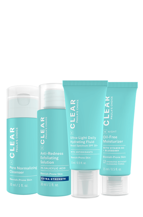 Clear Extra Strength Travel kit