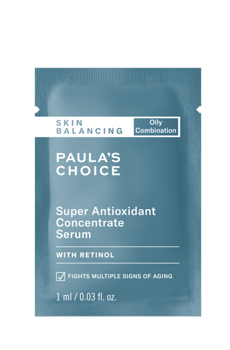 Skin Balancing Super Antioxidant Concentrate Serum Sample