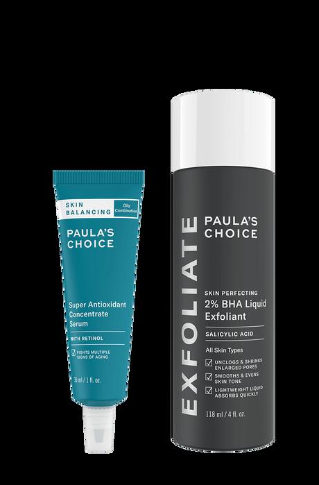 Power Duo Balance skin + Reduce breakouts