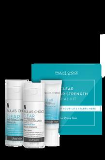 Clear Regular Strength Travel Kit