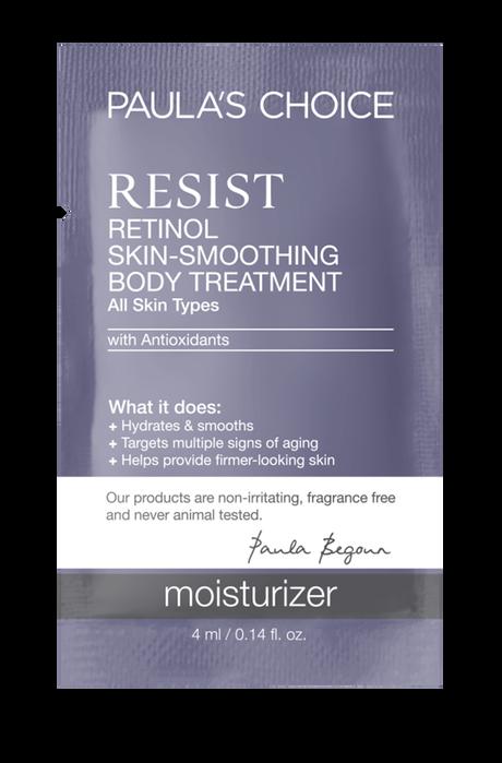 Resist Anti-Aging Retinol Skin-Smoothing Body Treatment Sample