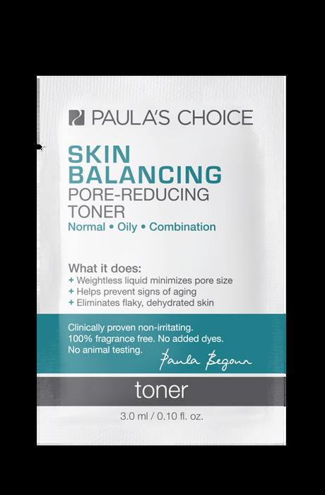 Skin Balancing Pore-Reducing Toner Sample