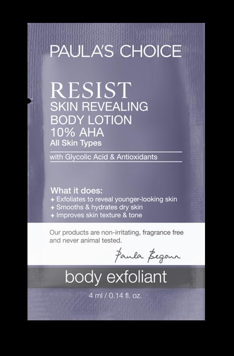 Resist Anti-Aging Skin Revealing Body Lotion AHA Sample