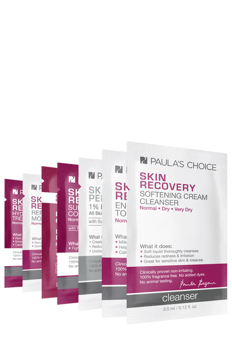 Skin Recovery Sample Set