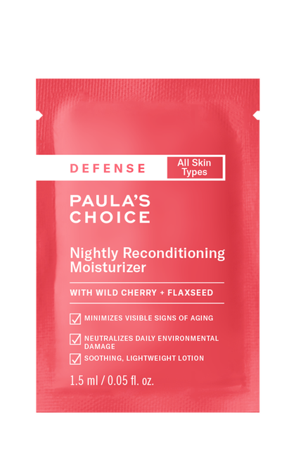 Defense Nightly Reconditioning Moisturizer Sample