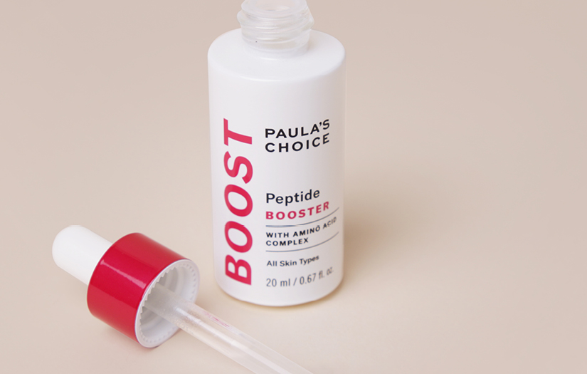 Unlock firmer-looking skin with the Peptide Booster